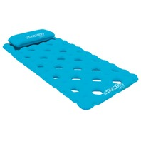 "AIRHEAD SUN COMFORT COOL SUEDE POOL MATTRESS-88"" x 40"", Sapphire"