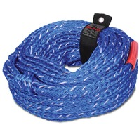 AHTR-16BL AIRHEAD 6-RIDER-Bling Tube Tow Rope, Blue, 6000 lb