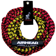 AIRHEAD  2-SECTION TUBE TOW ROPE, 2-RIDER, 50'/60'