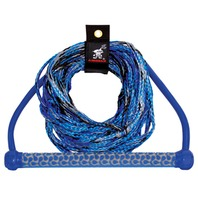 AIRHEAD  3-Section Wakeboard Rope with EVA-Wrapped Handle Grip