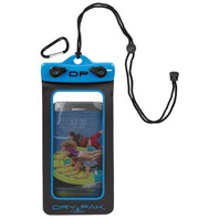 "DRY PAK SMART PHONE, GPS, MP3 CASE-Dry Pak 4"" x 7"", Electric Blue"