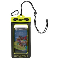 "DRY PAK SMART PHONE, GPS, MP3 CASE-Dry Pak 4"" x 7"",  Lemon Lime"