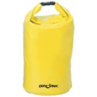 "DRY PAK Roll Top Dry Bag, 12-1/2"" dia.x 28"" H, Yellow"