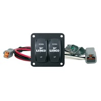 LENCO Double Rocker Switch Kit for Single 12/24V Actuator Systems