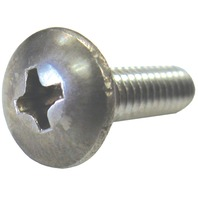 PHILLIPS PAN HEAD MACHINE SCREWS, SS, BULK-1/4-20 x 1""
