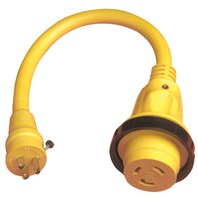 POWERCORD PLUS  PIGTAIL ADAPTER-30A Female/15A Male Pigtail Adapter