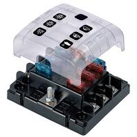 ATC FUSE HOLDER WITH CONTOUR LOCK SYSTEM-6-Gang ATC Fuse Holder, 6-Gang