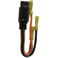 Trolling Motor PLUG, 12/24V 3-10 GA-12/24V Female Plug