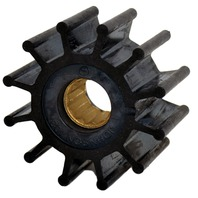 "JOHNSON PUMP REPLACEMENT IMPELLERS, MC97-For F5 Pump, 12 Blade, 2.25""OD, 1.24""W"