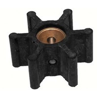 "JOHNSON PUMP REPLACEMENT IMPELLERS, NEOPRENE-For F5 Pump, 12 Blade, 2.25""OD, 1.24""W"