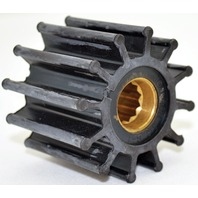 "JOHNSON PUMP REPLACEMENT IMPELLERS, MC97-For F6 Pump, 12 Blade, 2.25""OD, 1.90""W"