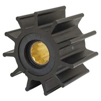 "JOHNSON PUMP REPLACEMENT IMPELLERS, NITRILE-For F8 Pump, 11 Blade, 3.74""OD, 2.48""W"
