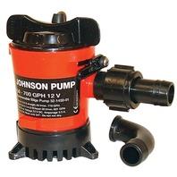 CARTRIDGE BILGE PUMPS WITH DURA-PORT-750 GPH, Uses Repl. Cartridge 28572