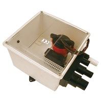 Johnson Pump Multiple Port Shower Sump System