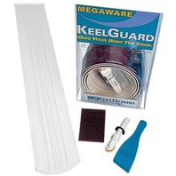 "KEEL GUARD-5""W x 6'L;  White, For Boats 17-18'L"