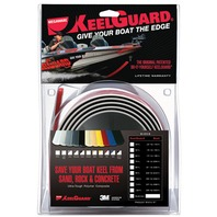 "KEEL GUARD-5""W x 5'L; Black, For Boats 15-16' L"