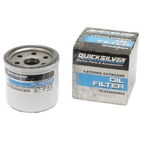 4-STROKE OUTBOARD OIL FILTER, MERCURY/MARINER-Merc/Mariner 8/9.9 HP, 15/20 Hp 4-stroke carb., 25/30 Hp EFI (MY2006 & newer)