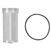 QUICKSILVER FUEL FILTER-149 Micron Screen and Viton Seal; Under-Cowl f/Screw-On Bowl