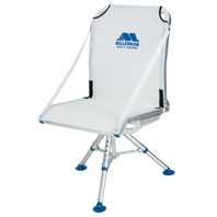 MILLENNIUM COMFORT MAX FOLDING ADJUSTABLE HEIGHT DECK CHAIR w/Removable Tripod & Case