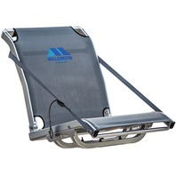 MILLENNIUM COMFORT MAX FOLD DOWN MESH SEAT, PRO-M SERIES-Folding Seat, Gray