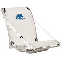MILLENNIUM COMFORT MAX FOLD DOWN MESH SEAT, PRO-M SERIES-Folding Seat, White