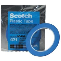 "SCOTCH PLASTIC TAPE NO.471-3/4"" x 36 yds (bulk)"