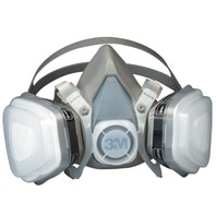 3M  DUAL CARTRIDGE RESPIRATOR ASSEMBLY 5XP71, ORGANIC VAPOR/P95-Disposable