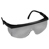 3M  STING RAYS  PROTECTIVE EYEWEAR-1710, Black Frame, Clear Lens