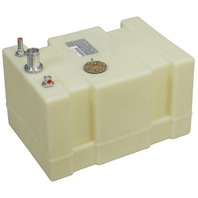 "PLASTIC BELOW DECK FUEL TANKS-12 Gal Tall, 20""L x 14""W x 11.75""H"