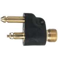 "033477-10 MERCURY 1998 & NEWER STYLE-1/4"" NPT Male Tank-Side Fuel Connector, Brass"
