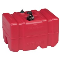 MOELLER EPA/CARB COMPLIANT TOPSIDE FUEL TANK-PBW12; 12 Gal, 14.3 W x 22.9 L x 13.9 H w/Cap
