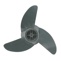 "MOTORGUIDE PROP KITS-3-Blade Machete III Prop Kit, 3.5"" dia. Gray"