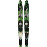 """HYDROSLIDE ROUND NOSE COMBO SKIS-Victory Adult Combo, 66"""""""