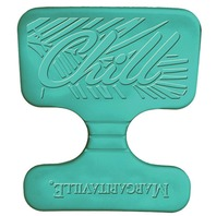 MARGARITAVILLE FOAM SADDLE FLOAT-Aqua, 20  x 20  x 1.25