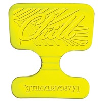 MARGARITAVILLE FOAM SADDLE FLOAT-Yellow, 20  x 20  x 1.25