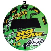 NO FEAR ROUND DECK TUBE-Dropzone 2 Covered Deck Tube, 2-Rider, 60""