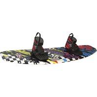 WB812 Hydroslide BackBeat Wakeboard with Grabber Bindings
