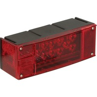 """LOW PROFILE WATERPROOF """"OVER 80"""" Right LED Trailer Tail Light, 7-Function"""