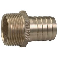 "BRONZE PIPE TO HOSE ADAPTER, 1-1/4"" Pipe to 1-1/4"" Hose, 2"" L"