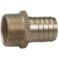 "BRONZE PIPE TO HOSE ADAPTER, 1-1/2"" Pipe to 1-1/2"" Hose, 2-1/4""L"
