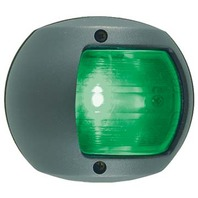 VERTICAL MOUNT PLASTIC SIDE LIGHT- Green Bow Light