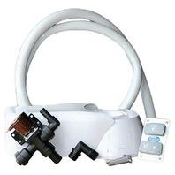 JABSCO MANUAL TO QUIET FLUSH ELECTRIC TOILET CONVERSION KIT- w/o Pump, 12V