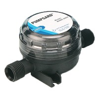 """PUMPGARD  FINE MESH STRAINERS-Inline, for 3/8"""" ID hose"""