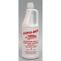 ALUMA-BRITE PONTOON AND ALUMINUM HULL CLEANER-Quart, Case Qty 12