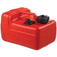"OEM CHOICE PORTABLE FUEL TANK WITH GAUGE-3.2 Gal, 14.3""L x 10.4""W x 9.1""H"