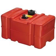 "PORTABLE FUEL TANK, EPA/CARB COMPLIANT -12 Gallon, 22.9""L x 14.3""W x 13.9""H (Tall Profile)"