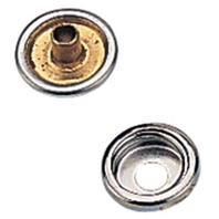 "CANVAS SNAP AND STUD  FASTENERS-Snap Cap & Socket, 1/4"", Set of 6"
