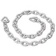 "GALVANIZED ANCHOR CHAIN-4' Overall Length, 1/4"" Chain Link Size"