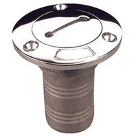 "STAINLESS STEEL HOSE DECK FILL-SS 1-1/2"" Diesel Deck Fill"