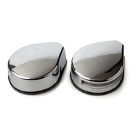 LED TOP MOUNT SIDE LIGHTS-Stainless Steel, Pair Red/Green Bow Light
